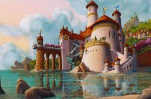 El Castillo del Príncipe Erik en La Sirenita