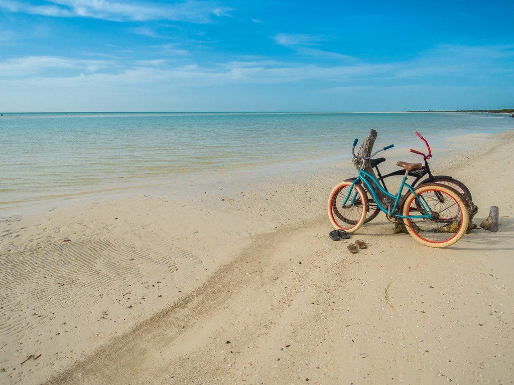 Bicicletas en la isla