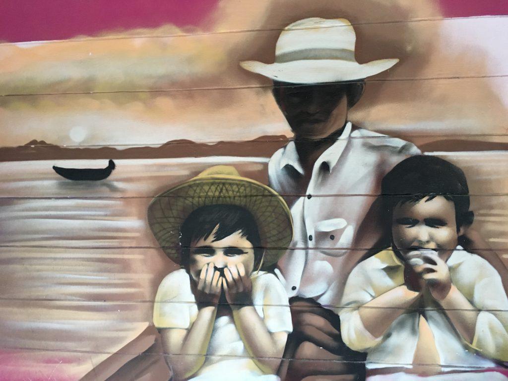 Los murales del centro