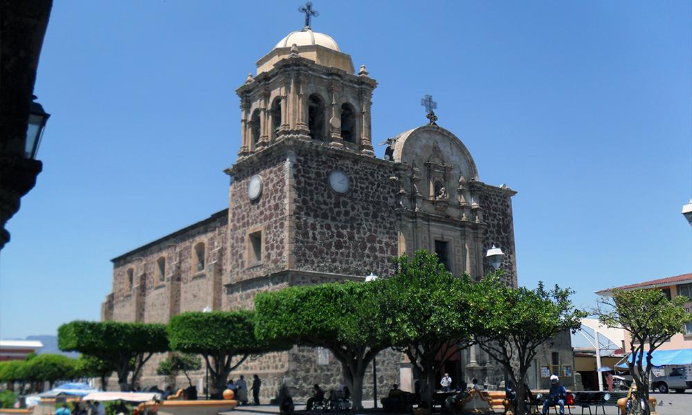 Iglesia de Santiago Apóstol en Tequila, Jalisco