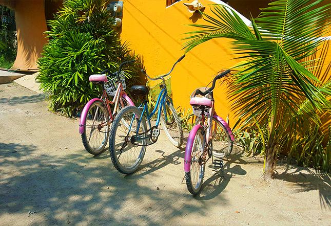 Paseo en bicicleta isla holbox