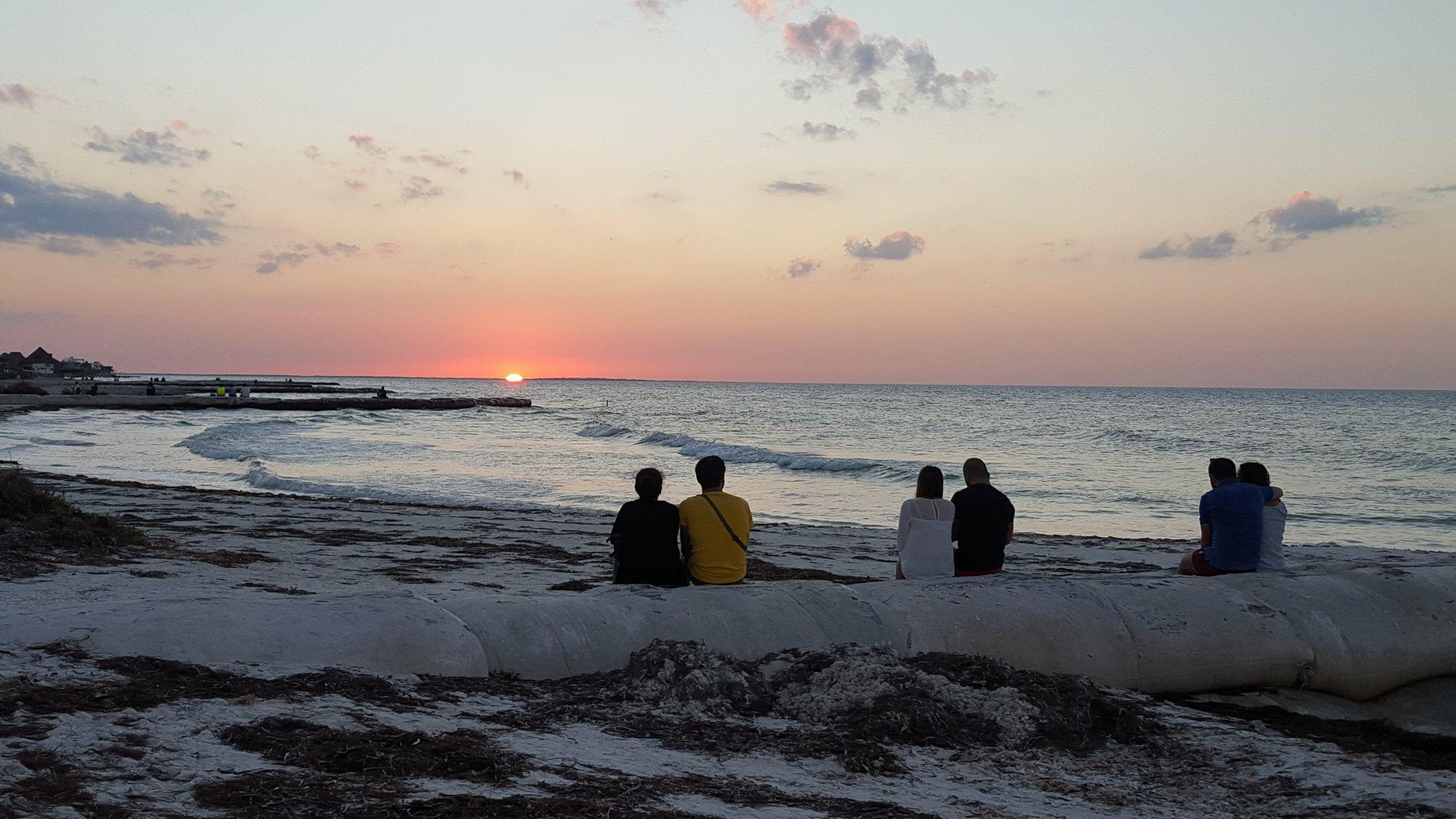 Pues de sol en Isla Holbox