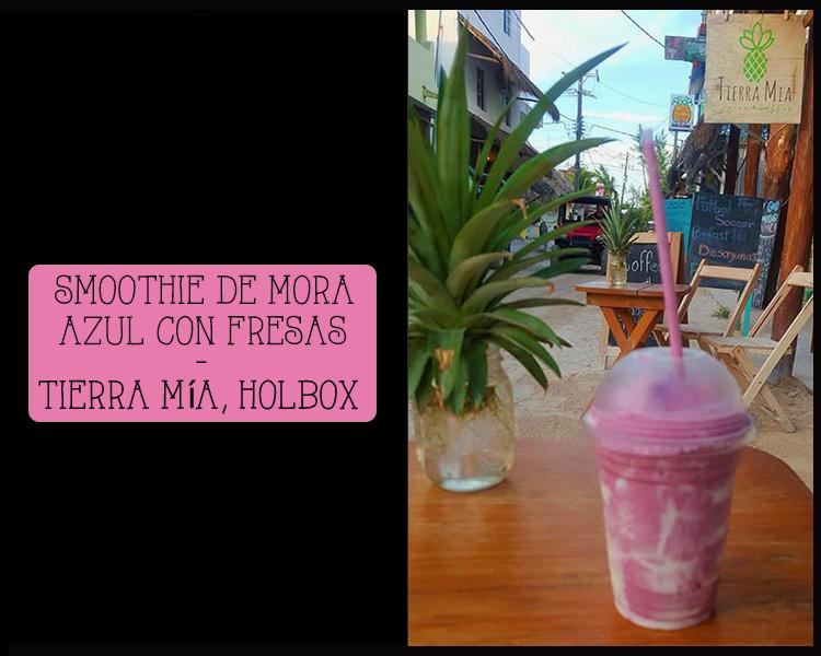 dónde comer en holbox smoothie smoothies tierra mia holbox isla