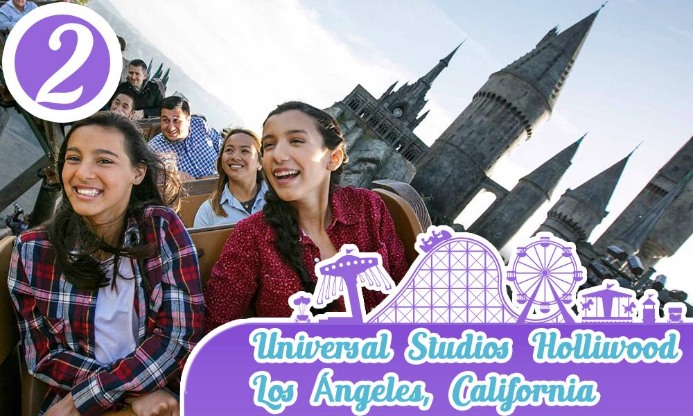 Mejores parques de diversiones de Estados Unidos Universal Studios Orlando Florida
