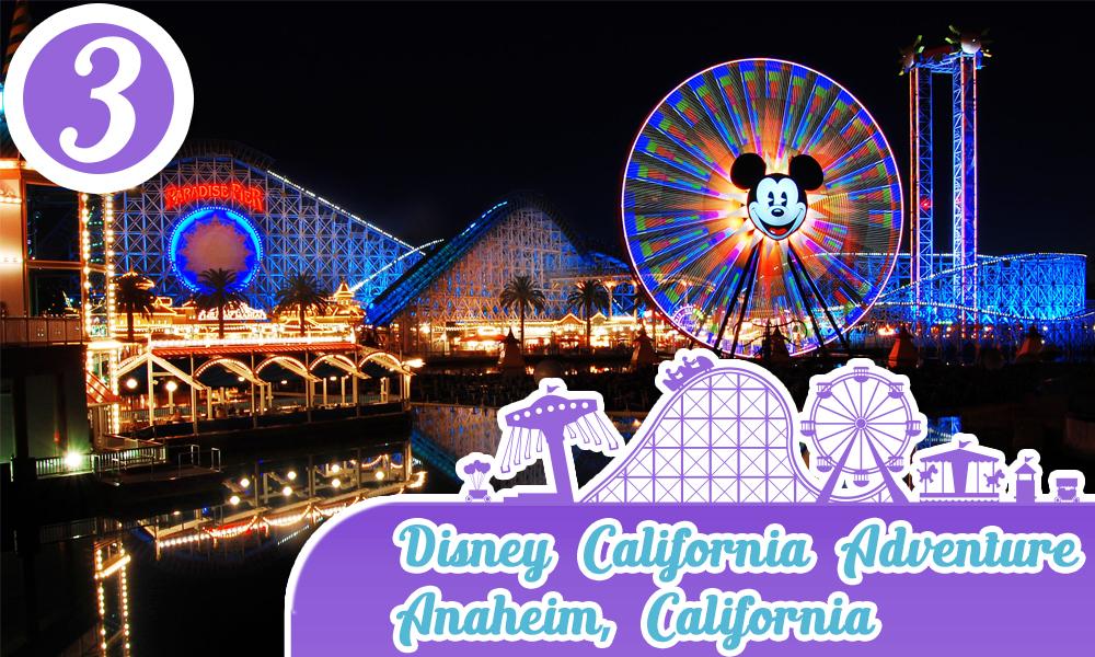 Mejores parques de diversiones de Estados Unidos Disney California Adventure