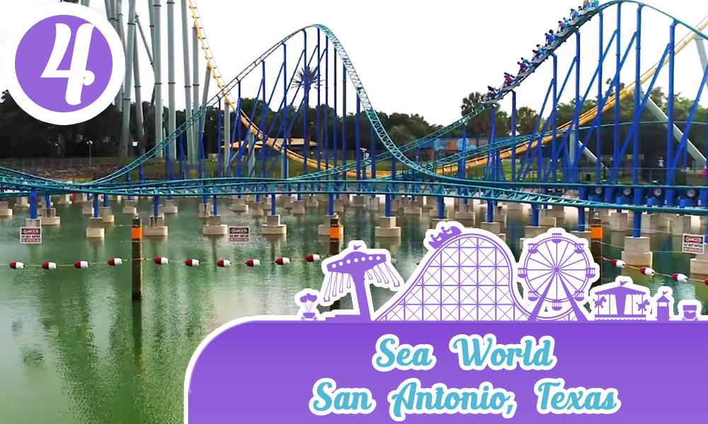 Mejores Parques de Diversiones de Estados Unidos Sea World San Antonio