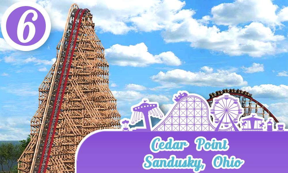 Cedar Point, Sandusky, Ohio parques de diversiones de estados unidos