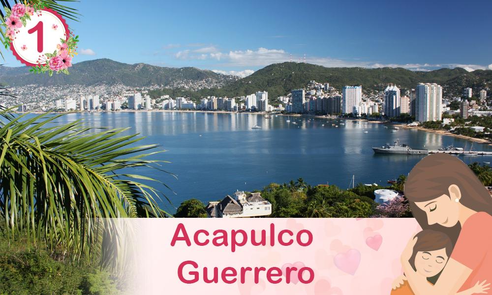 Acapulco Guerrero destinos para festejar a mamá