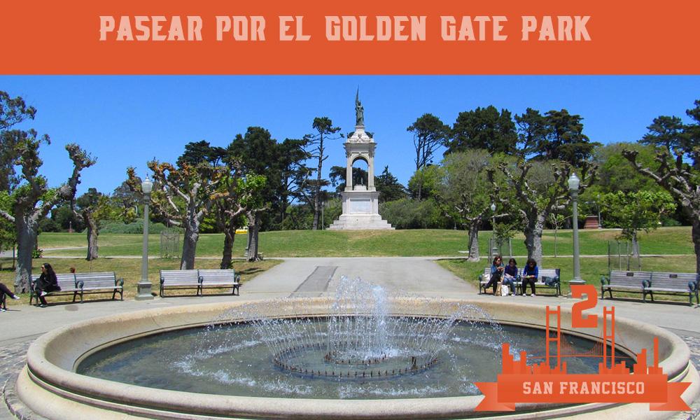 Qué hacer en San Francisco golden gate park