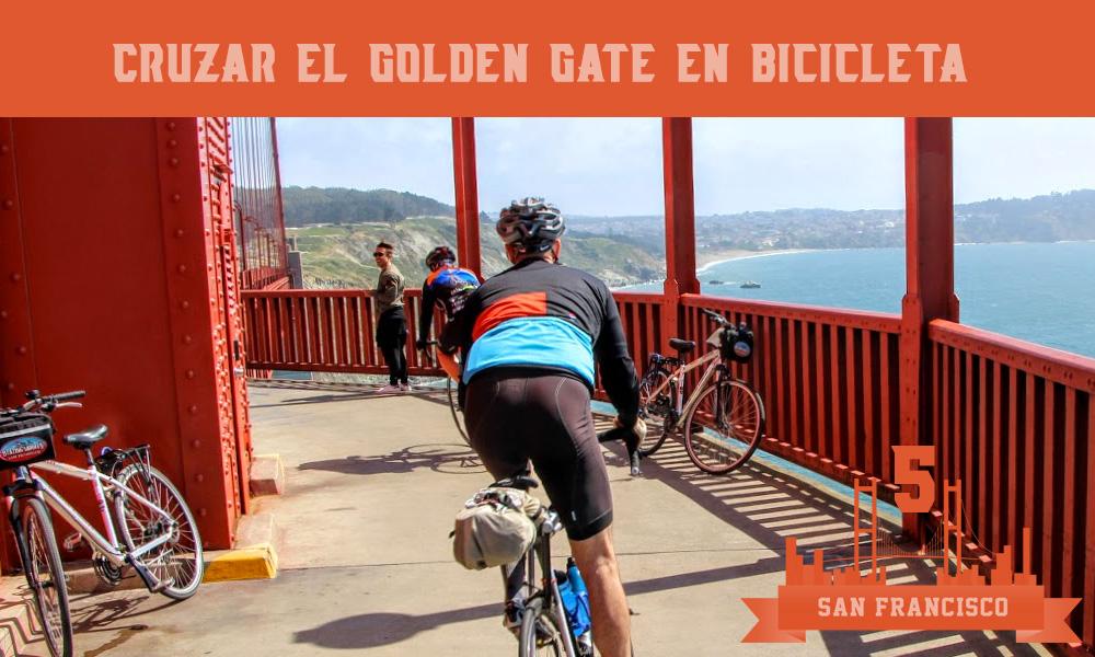 Cruzar en bicicleta el Golden Gate que hacer en san francisco
