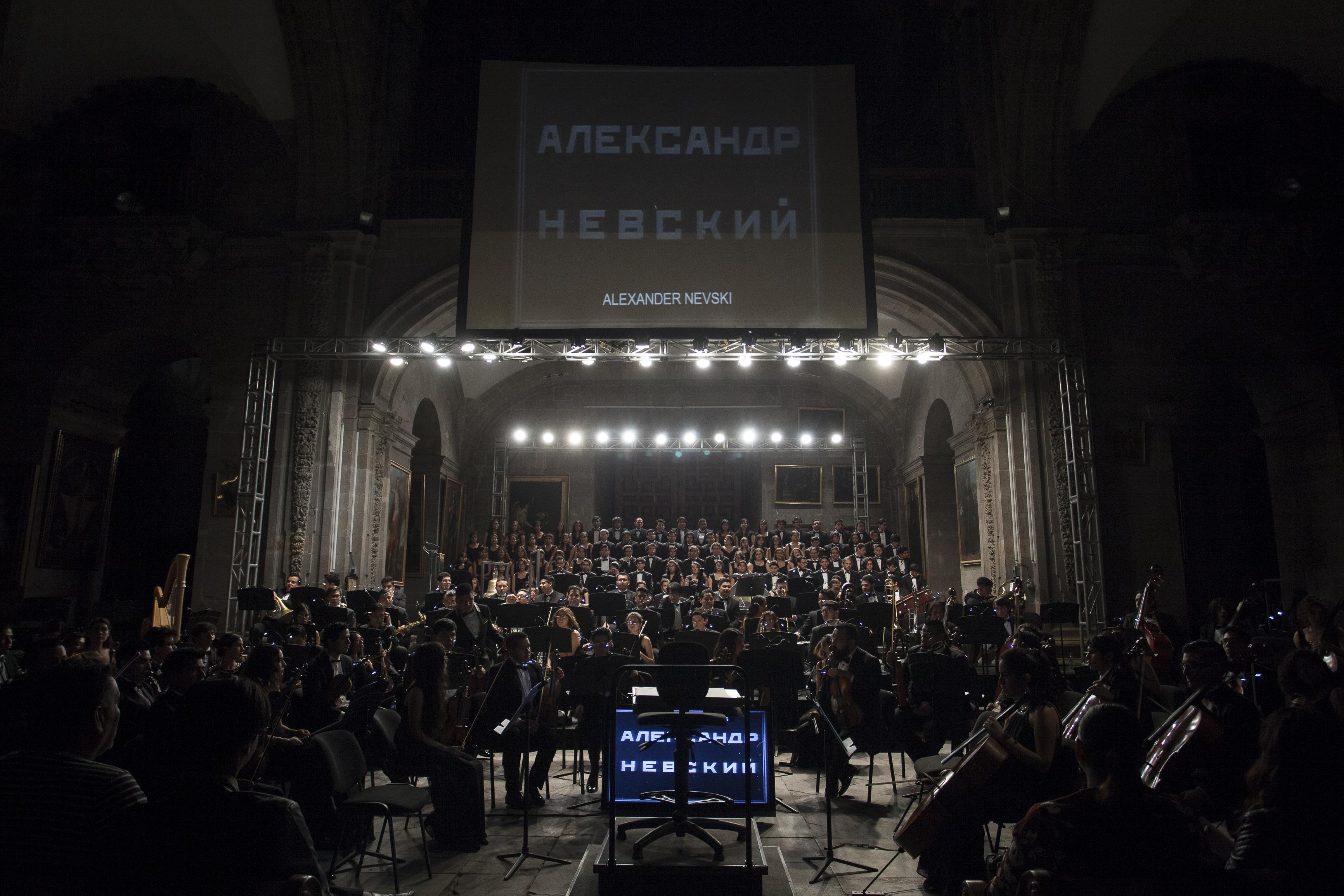 Orquestas y ensambles  Alexander Nevsky de Eisenstein Orquesta Sinfónica Juv-(fic)-CJA-9572_0