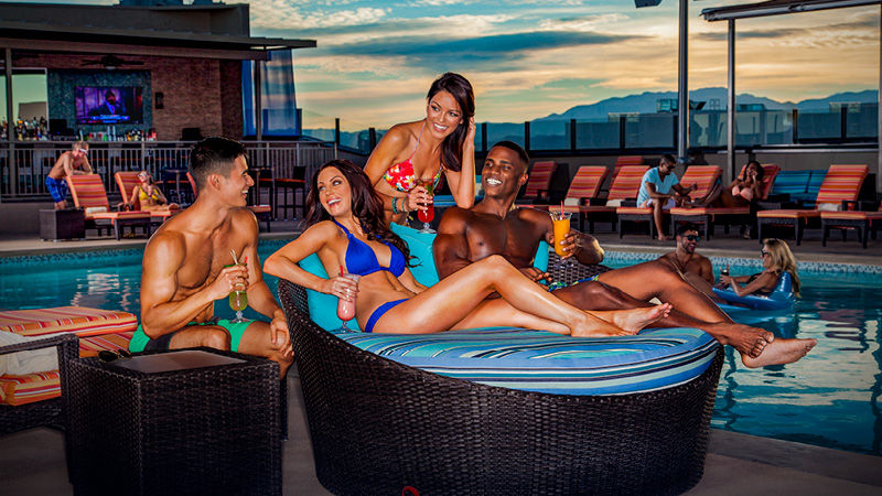 Radius Rooftop Pool and Wet Lounge las vegas