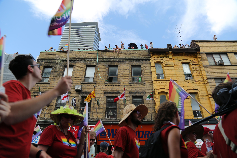 Marcha gay en Canada gay friendly