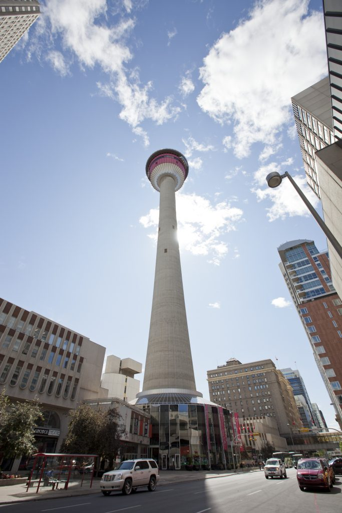 Calgary tower que hacer alberta canada dia foto panoramica