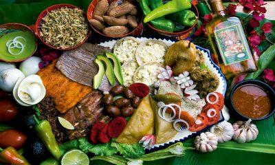 Comida oaxaca gastronomia