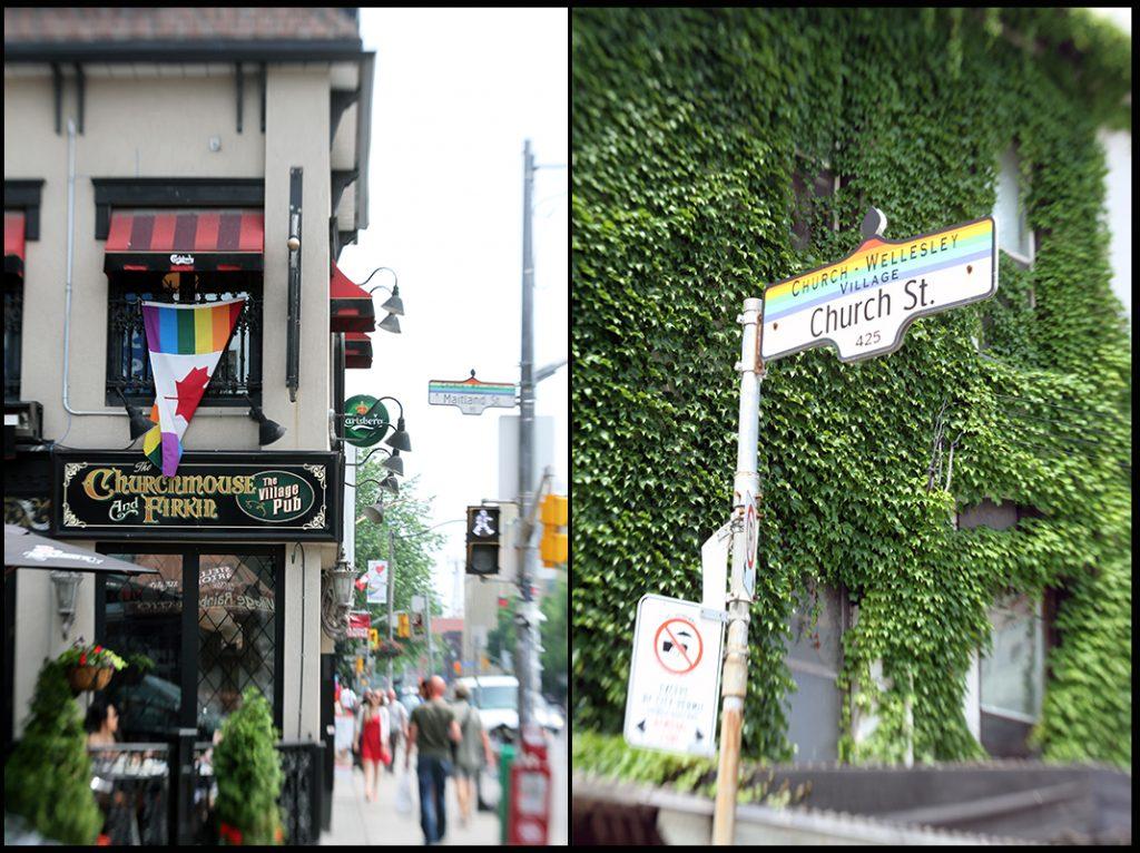 Gay Village Toronto Pride
