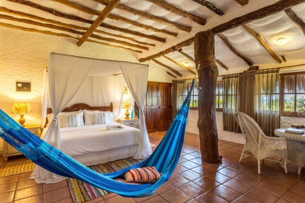 Hoteles en Holbox baratos economicos frente al mar