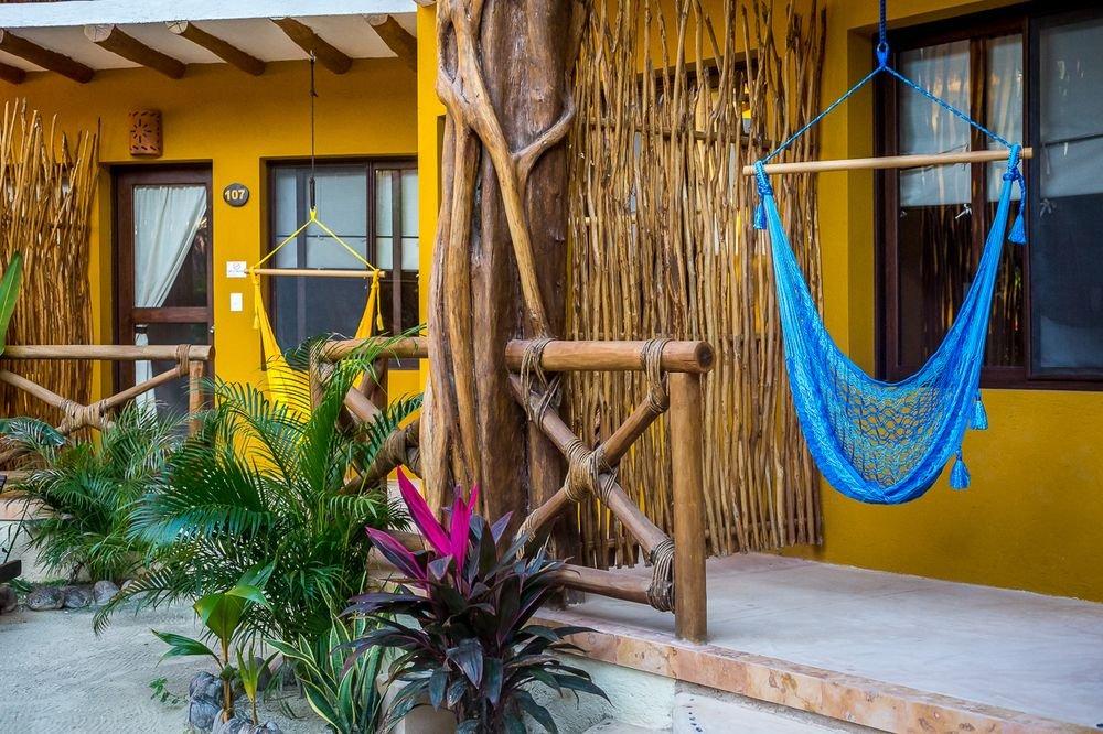 vista hotel holbox dreams cuartos hoteles frente al mar hamacas