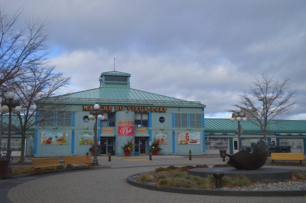 Mercado del Viejo Puerto en Quebec City