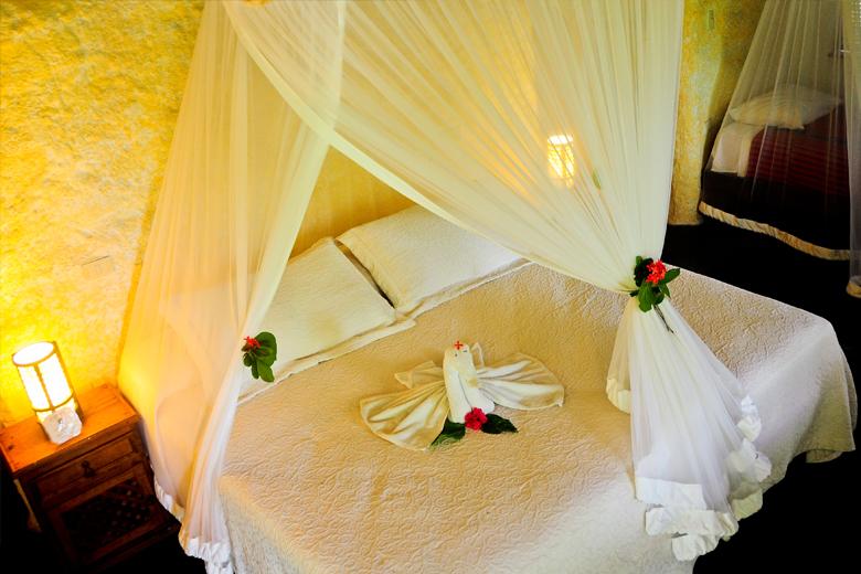 habitacion villa delfines hoteles en holbox economicos frente al mar