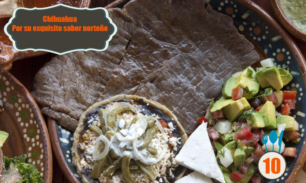 gastronomia chihuahua mexicana mexico platillos tipicos