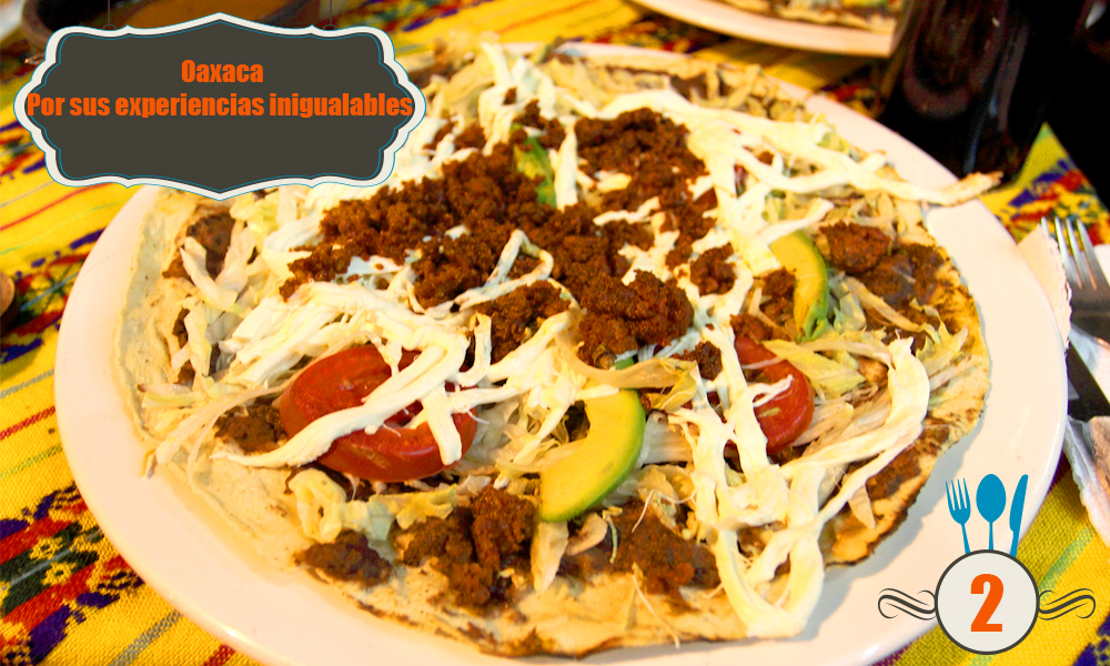 gastronomia oaxaca oaxaquena mexicana mexico platillos tipicos
