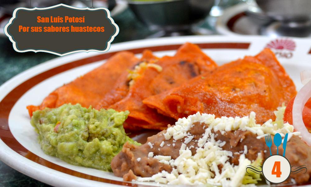 gastronomia potosi mexicana mexico platillos tipicos