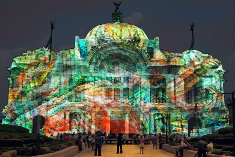 5 destinos mexicanos que se pintan de colores CDMX