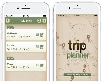 7 apps para organizar con éxito tu viaje trips