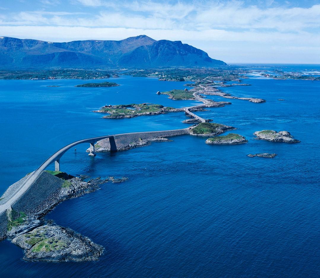 Carreteras que tienes que conducir una vez en tu vida, Atlanterhavsveien, Noruega