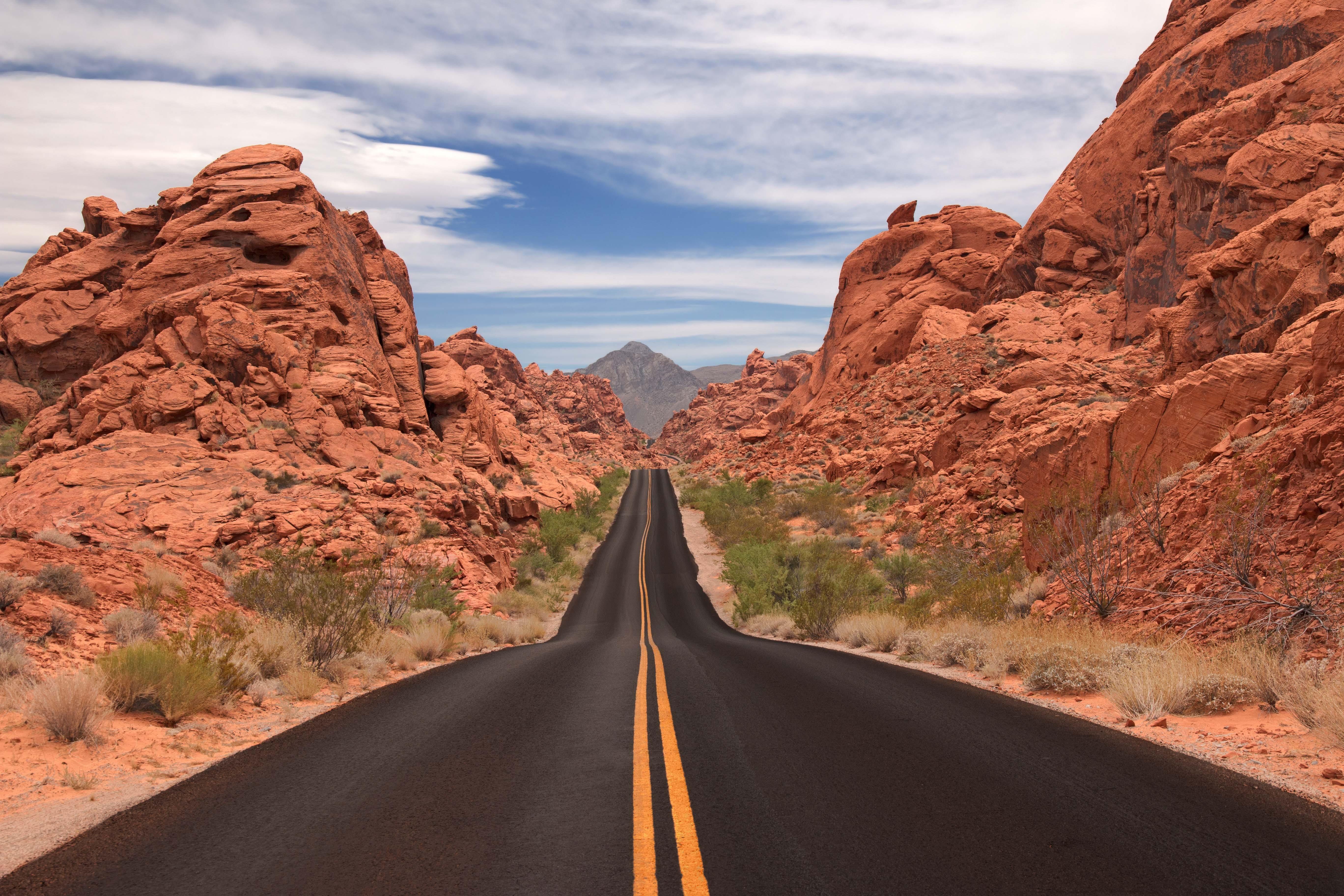 Carreteras que tienes que conducir una vez en tu vida, Red Rock, Estados Unidos