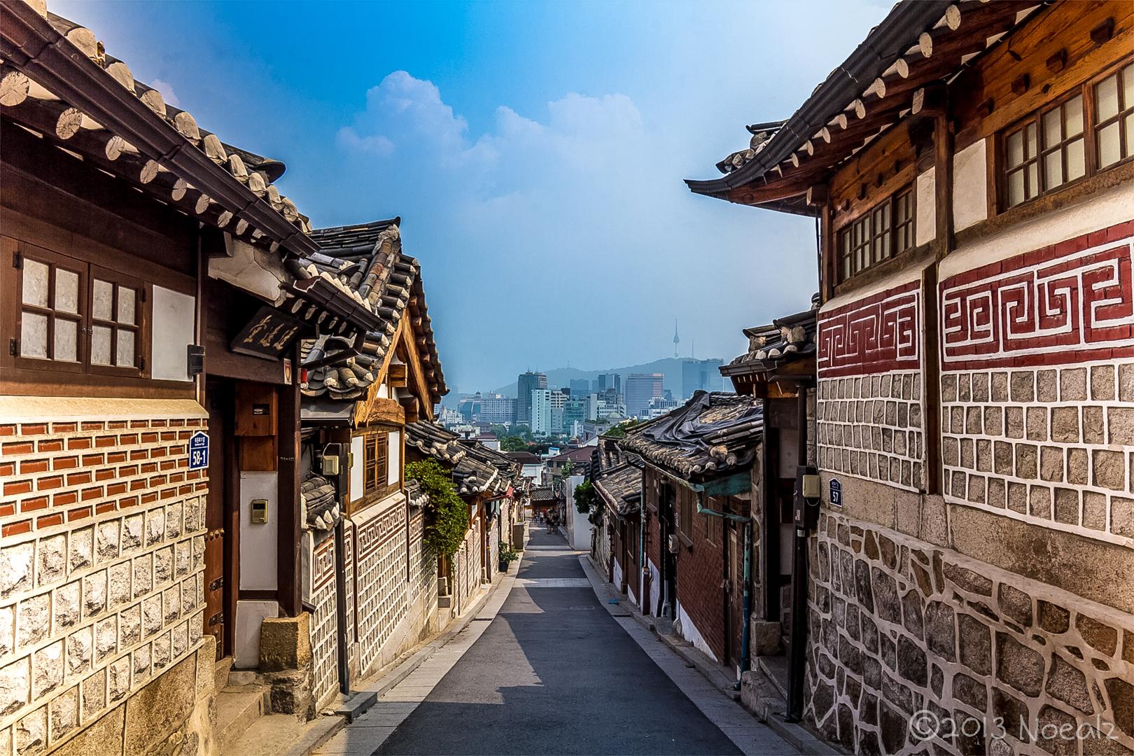 Celebra el pase de la selección mexicana en Corea del Sur Bukchon-Hanok-Village