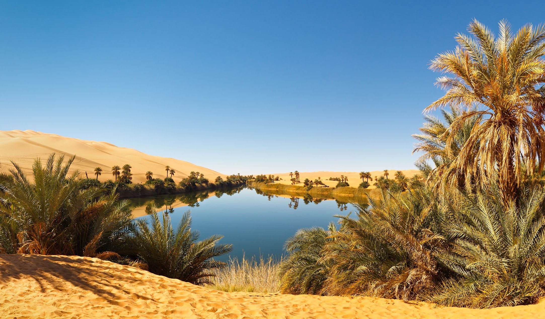 Пять подлинных оазисов в пустыне, которые заставят вас затаить дыхание