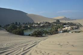 Cinco oasis en el desierto Perú