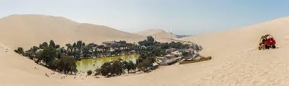 Cinco oasis en el desierto peru