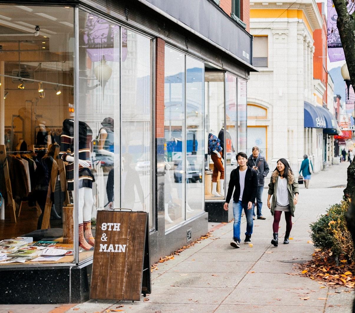 De compras en Vancouver