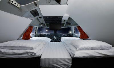 Jumbo Stay, hotel en un avión