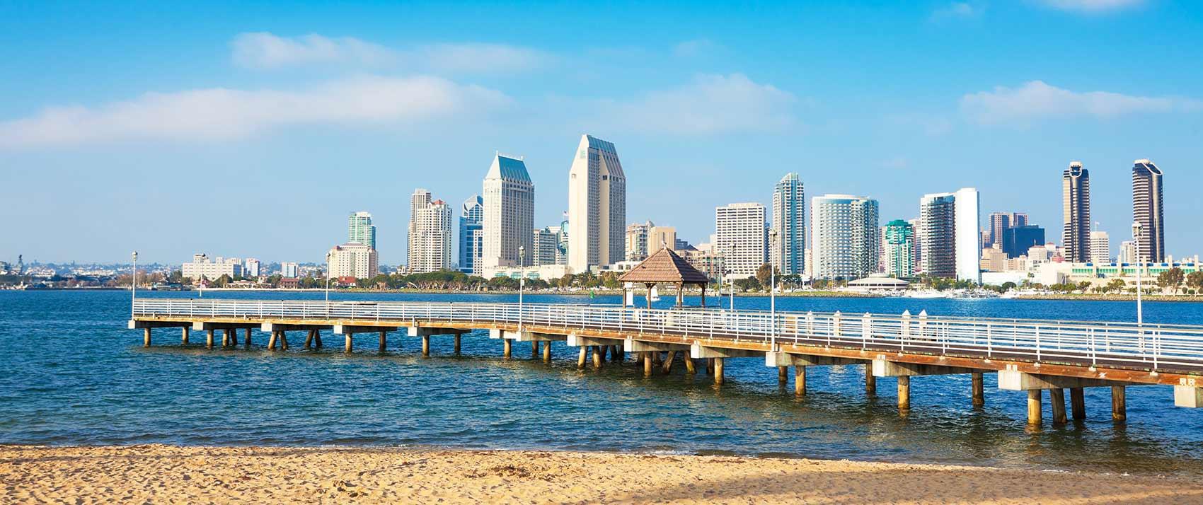Hoteles en San Diego buenos, bonitos y baratos