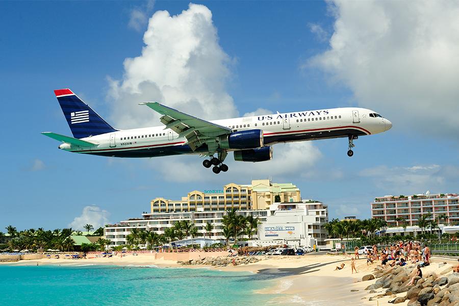 Los aeropuertos más espectaculares del mundo Princess Juliana, Isla de San Martín
