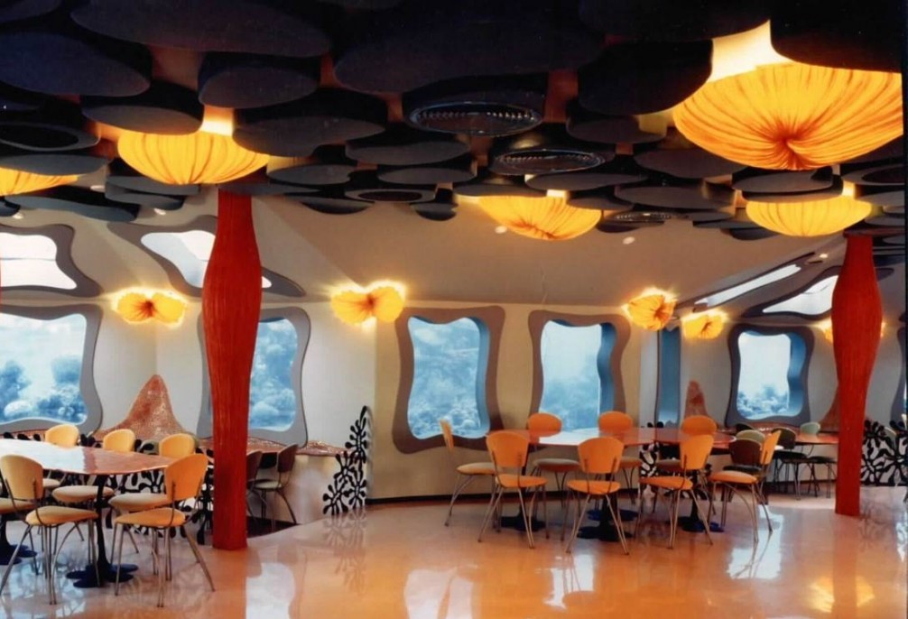 Los restaurante bajo el mar más emblemáticos del mundo Red Sea Star