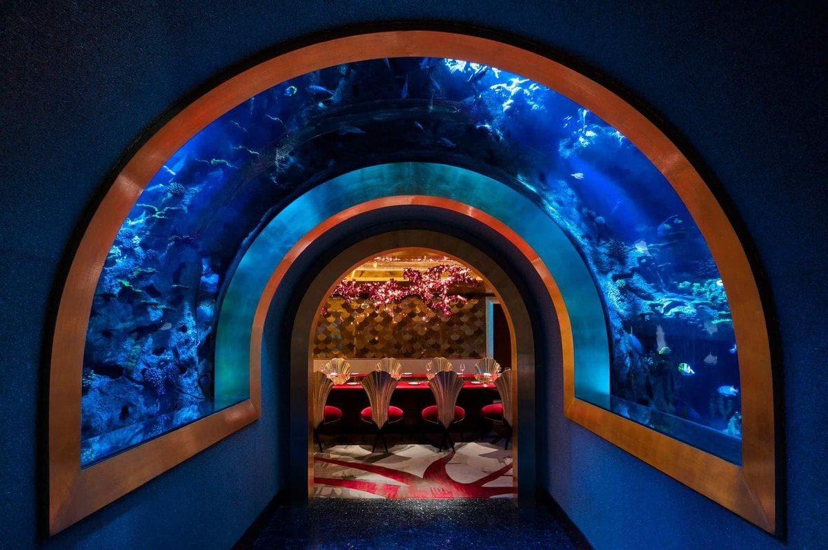 Los restaurantes bajo el mar más emblemáticos al-mahara-burj-al-arab