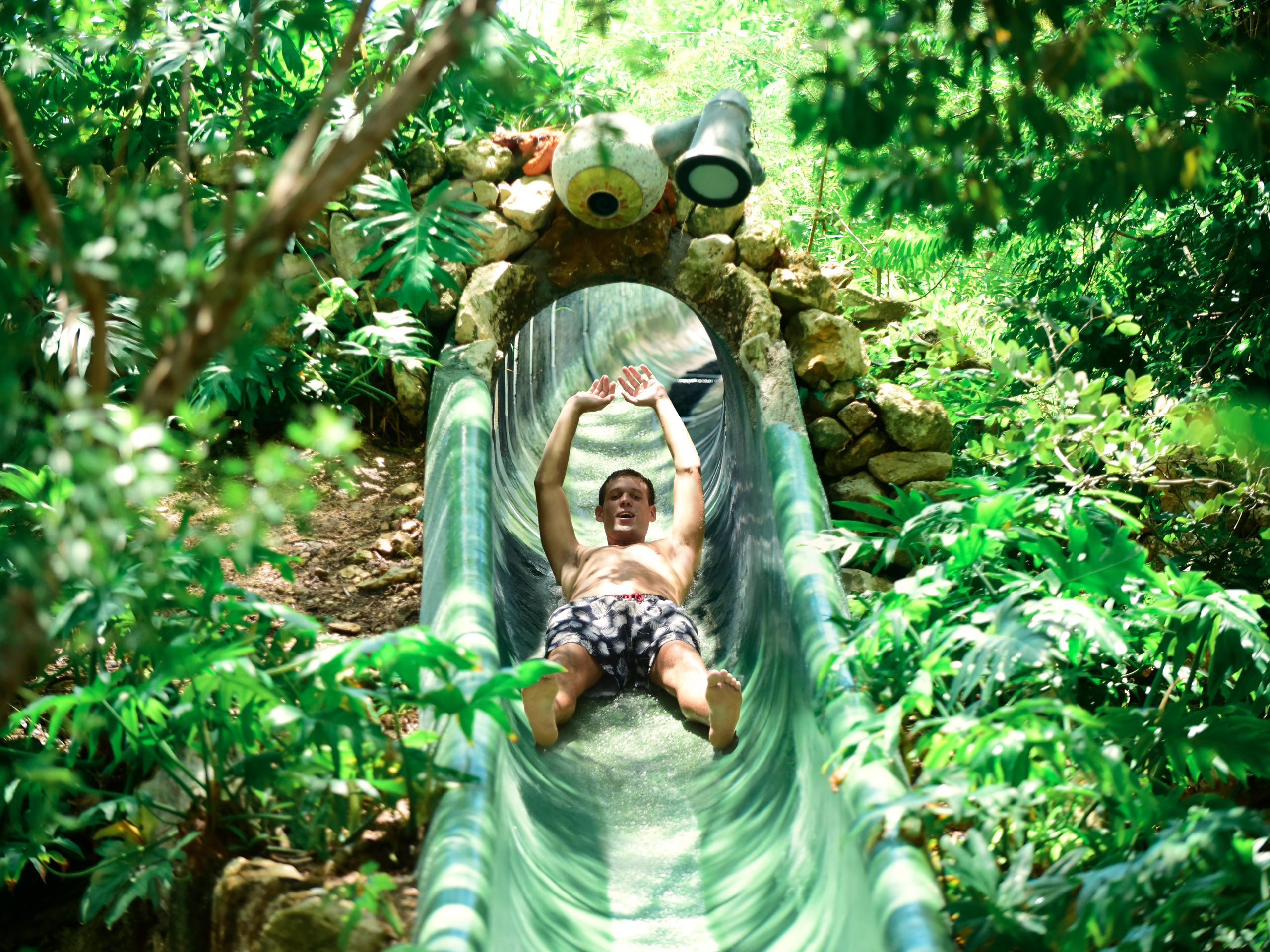 Parque xplor tobogan