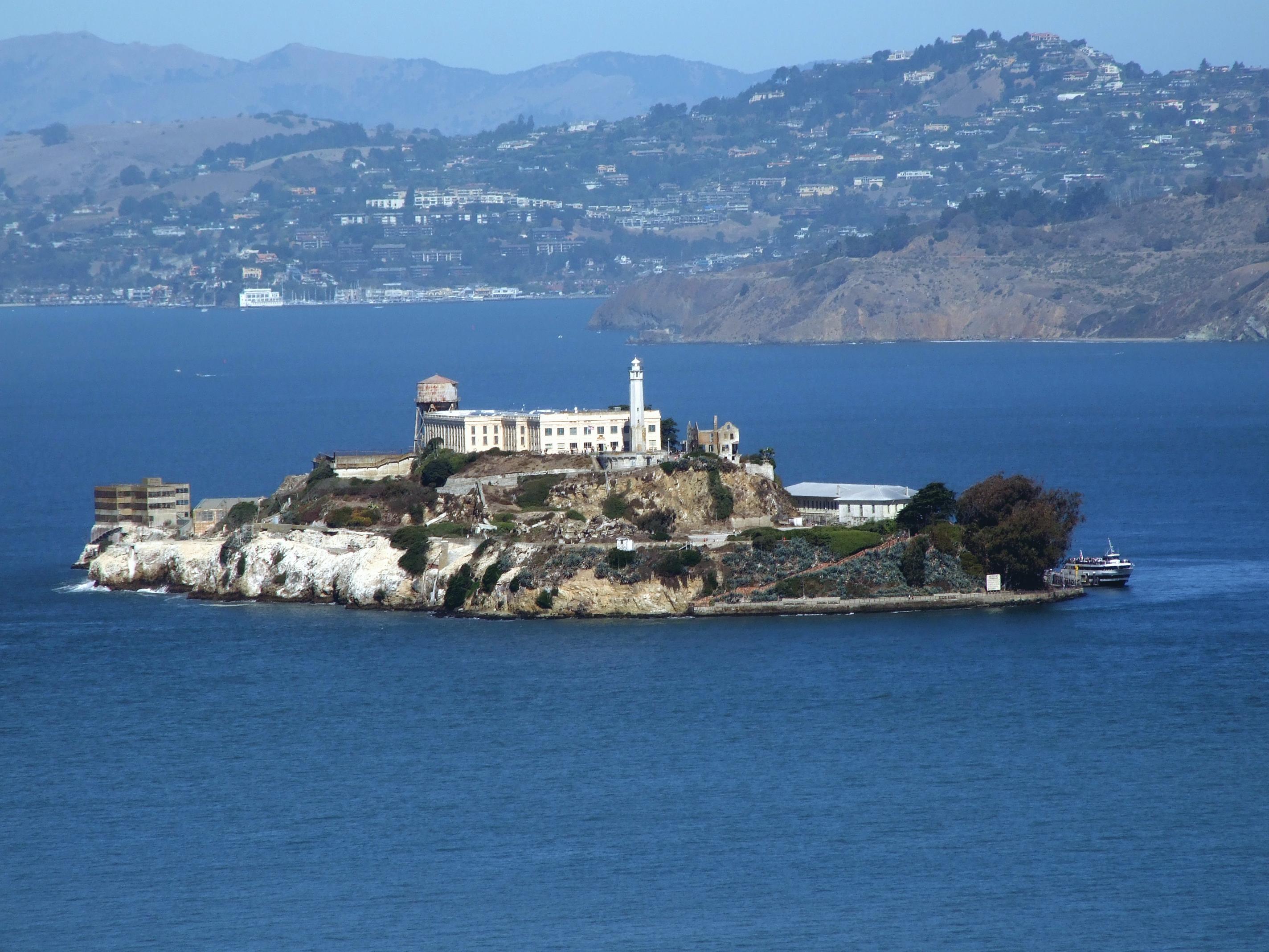 Prisiones para viajeros Alcatraz SF