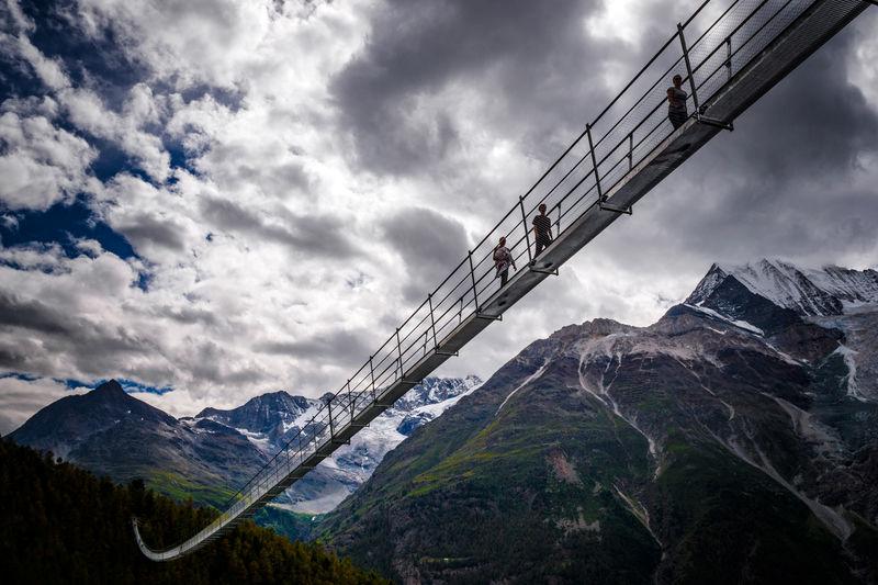 Puentes colgantes Charles Kuonen1