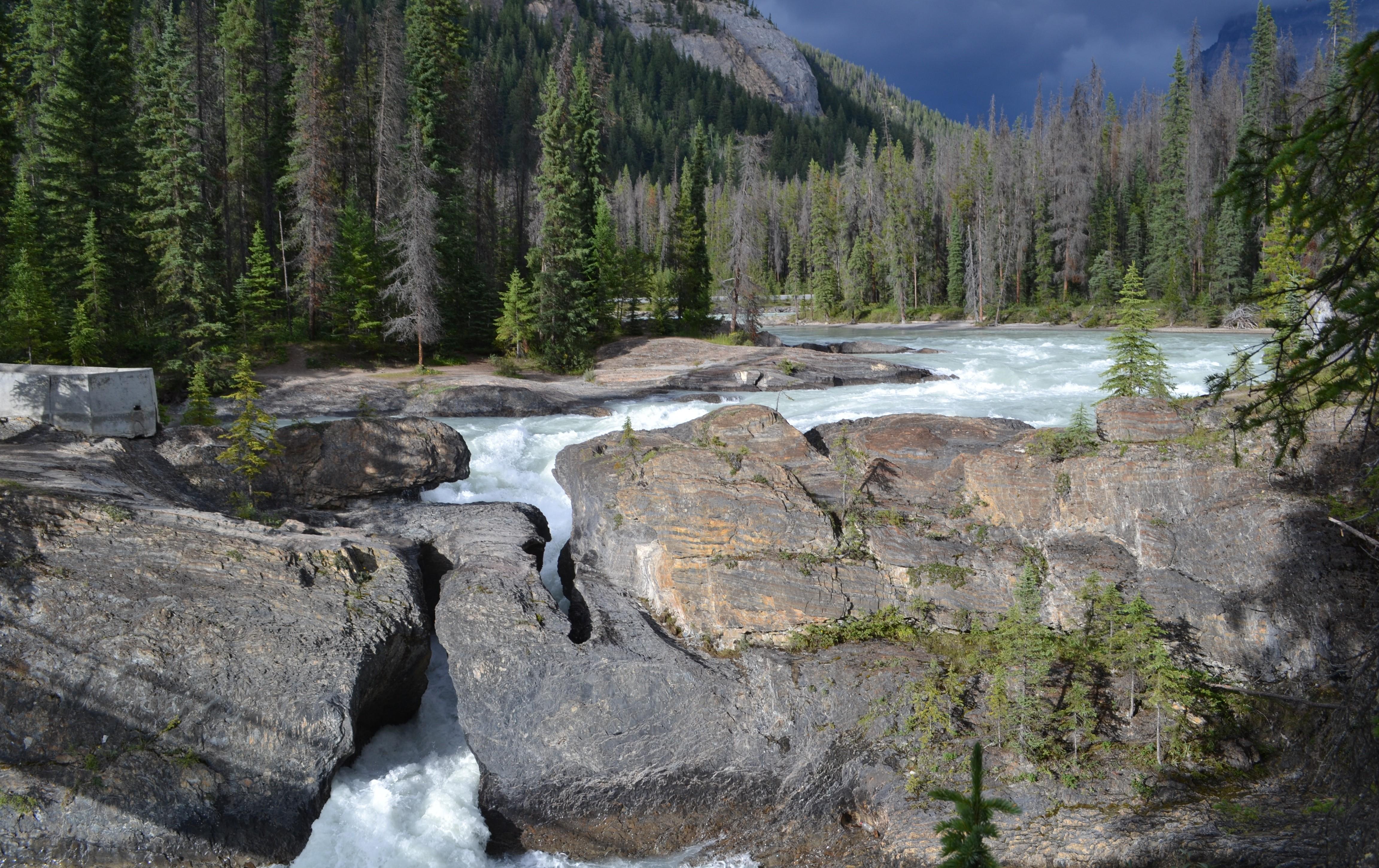 Puentes naturales, Parque Nacional Yoho,Canadá