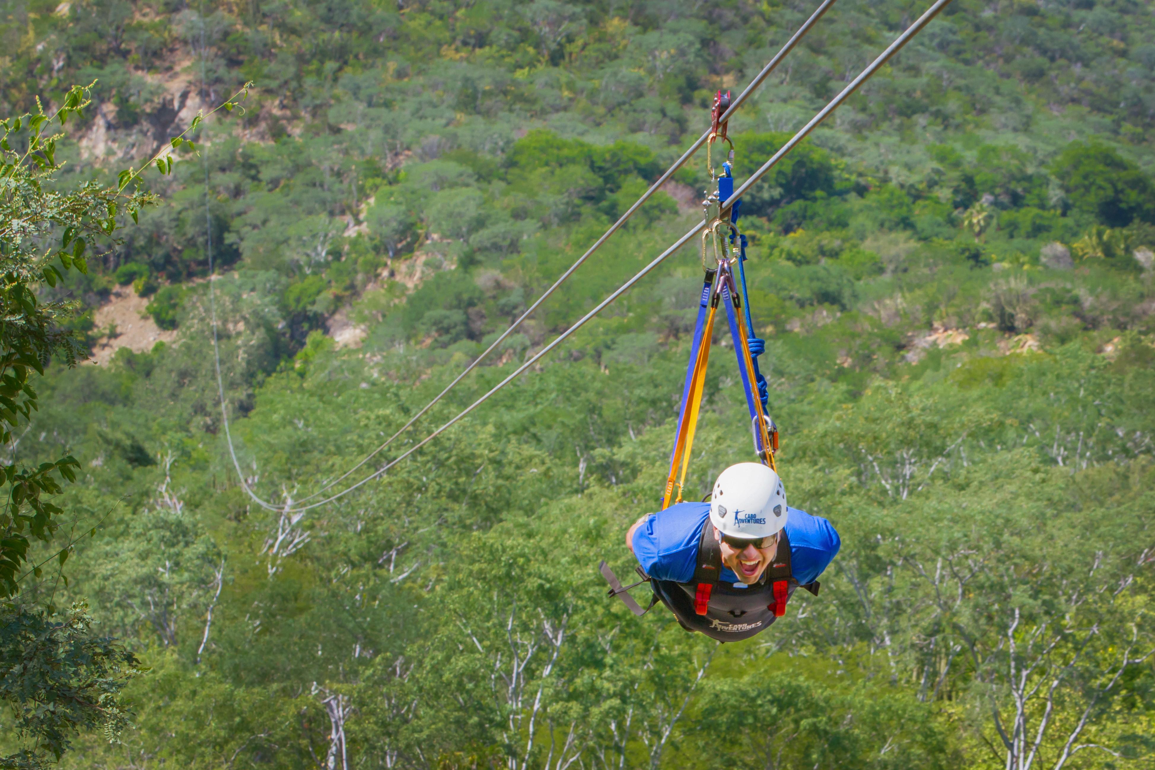Qué hace en Los Cabos tirolesa