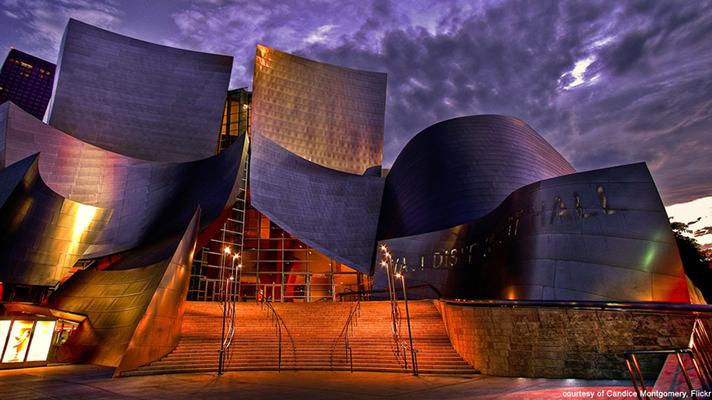 Qué hacer y qué ver en Los Ángeles, walt disney concert hall