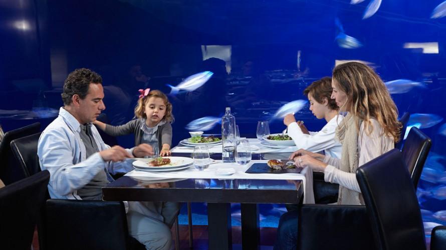 Restaurantes bajo el mar L´Oceanografic