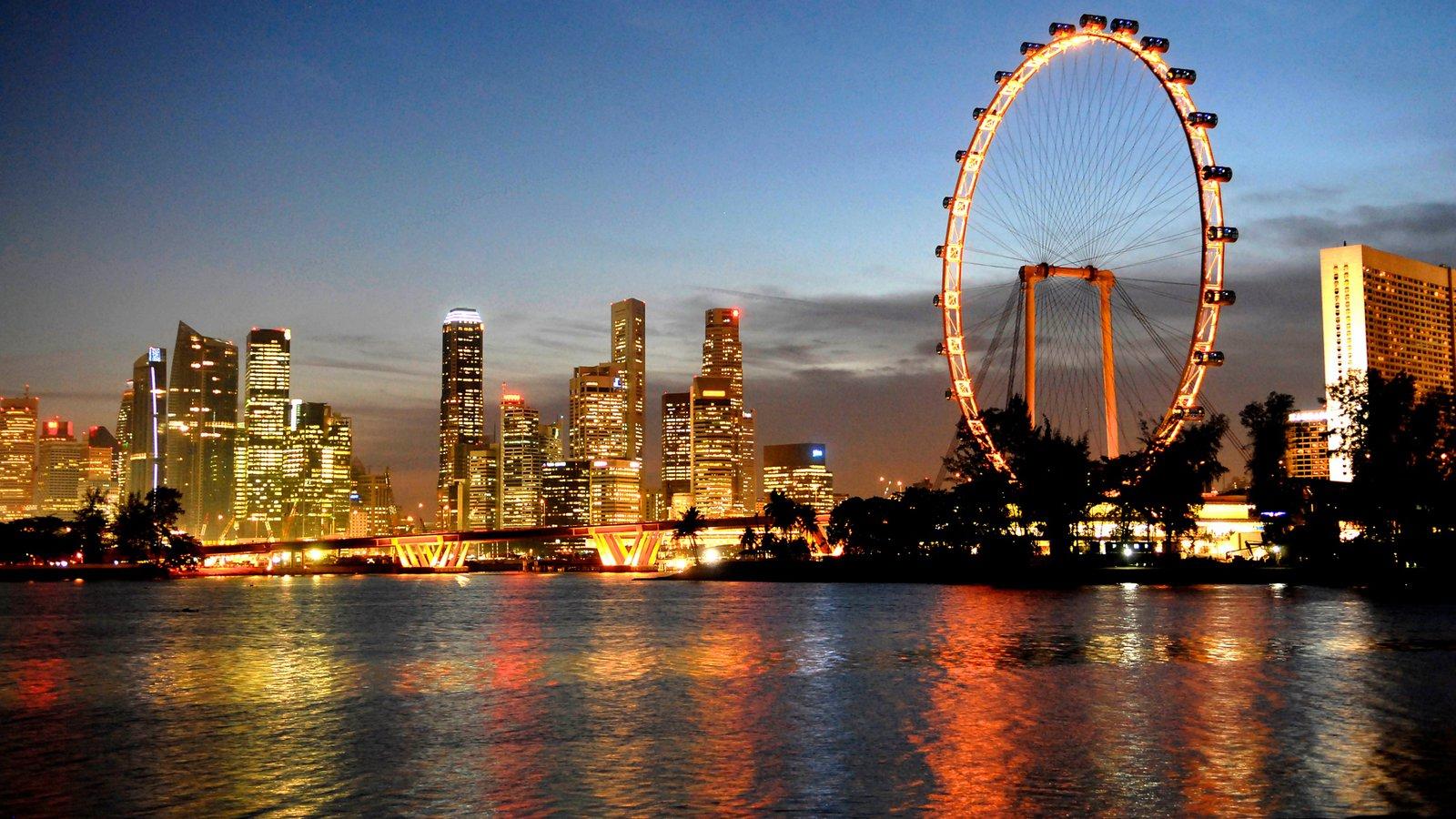 Rueda de la fortuna, Singapore Flyer, Singapur