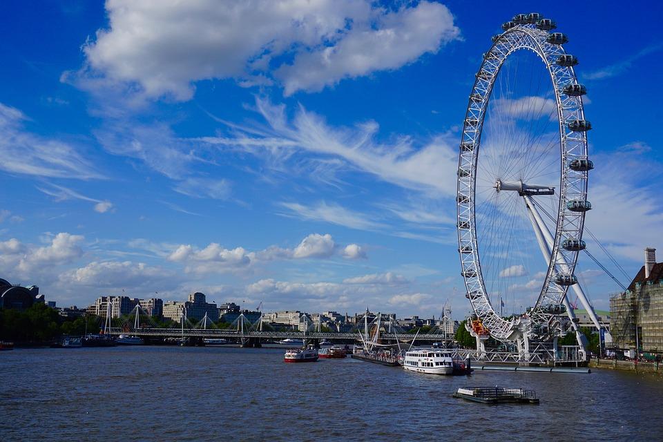 Ruedas de la fortuna, London Eye, Londres, Reino Unido